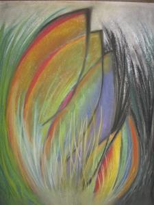'Delight' chalk pastel 2013#33 Donation