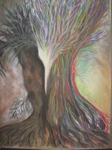 'Emerging'    soft chalk pastels     2012  #13