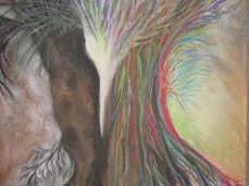 'Emerging'    soft chalk pastels     2012  #13