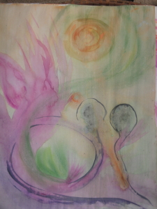Spirit or Soul - Acrylic on canvas